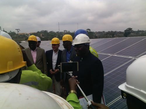 image L'électricien Eneo prend pied dans le solaire, avec une première centrale hybride dans la localité de Djoum